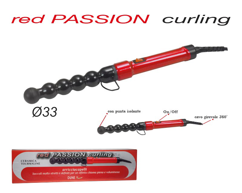 Red Passion CURLING 33mm
